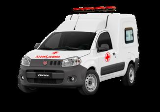 Fiorino Ambulância 2021