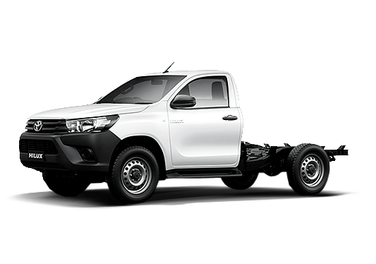 Toyota Hilux Cabine Simples 2021 e Chassi