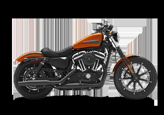 Harley Davidson Iron 883 2020 Scorched Orange/Silver Flux
