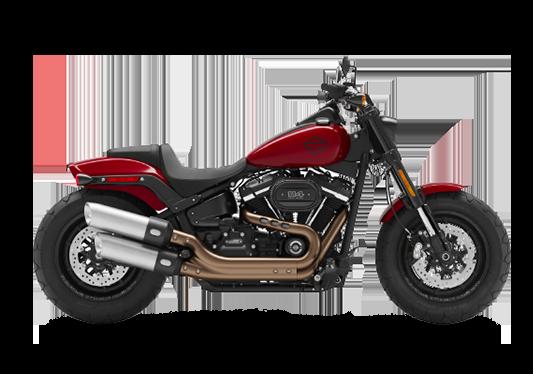 Harley Davidson Fat Bob 2021 Billiard Red
