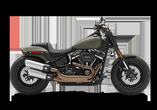 Harley Davidson Fat Bob 2021 Deadwood Green Denim
