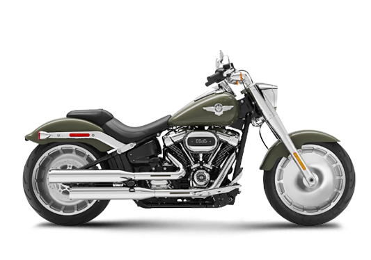 Harley Davidson Fat Boy 2021 Deadwood Green