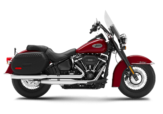 Harley Davidson Heritage Classic 2021 Billiard Red