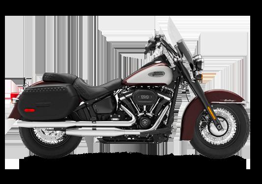 Harley Davidson Heritage Classic 2021 Midnight Crimson/Stone Washed White Pearl