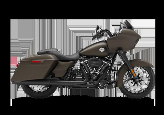 Harley Davidson Road Glide Special 2021 River Rock Gray Denim (Black Finish)
