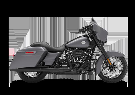 Harley Davidson Street Glide Special 2021 Gauntlet Gray Metallic (Black Finish)