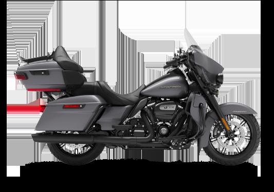 Harley Davidson Ultra Limited 2021 Gauntlet Gray Metallic (Black Finish)
