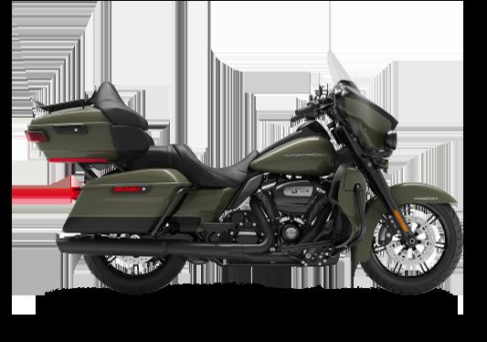 Harley Davidson Ultra Limited 2021 Deadwood Green/Vivid Black (Black Finish)
